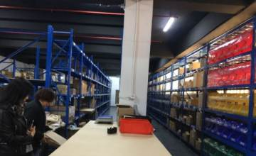 E-commerce warehouse image